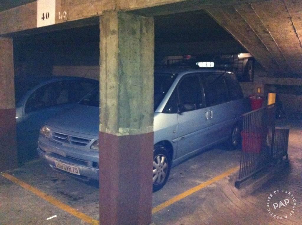 Location Garage, parking Paris 17E