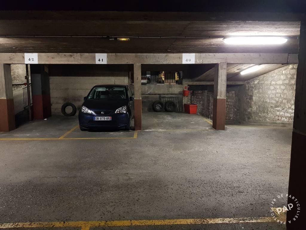 Garage, parking Paris 17E 180€
