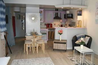 Location meublée studio 33m² Villeneuve-Loubet (06270) - 750€