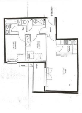 Vente appartement 3pièces 56m² Le Plessis-Belleville (60330) - 187.000€