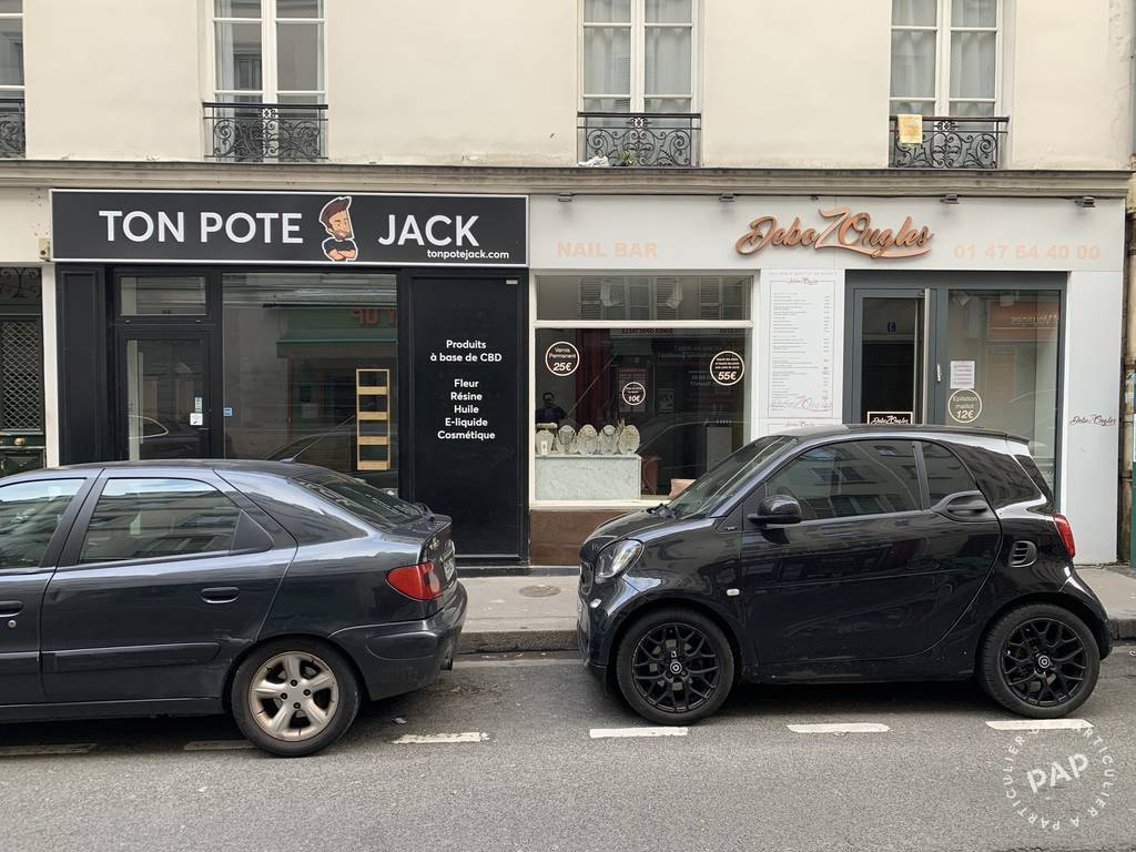 Vente et location Local commercial Paris 17E 14m² 1.440€