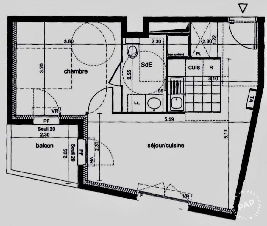 Location Appartement Rambouillet (78120) 39m² 800€