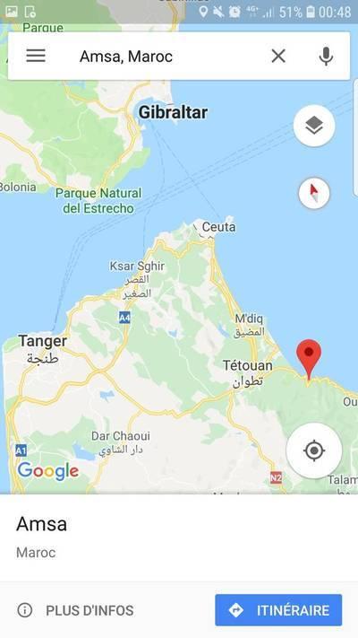 Amsa À Proximité De Tétouan