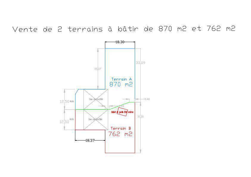 Vente Terrain Lagny-Sur-Marne (77400)  1.600.000€