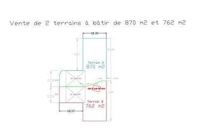 Vente terrain 2.390m² Lagny-Sur-Marne (77400) - 1.600.000€