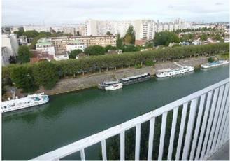 Location meublée appartement 2pièces 37m² L'ile-Saint-Denis (93450) - 890€