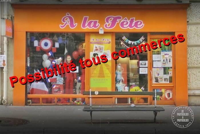 Vente et location Fonds de commerce Paris 15E 65m² 60.000€