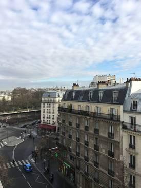 Location meublée studio 21m² Paris 17E - 900€