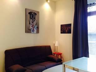 Location meublée studio 19m² Lyon 2E - 610€