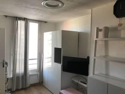 Location meublée studio 17m² Levallois-Perret (92300) - 830€