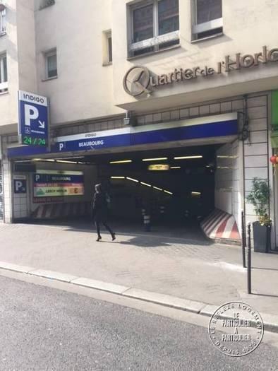 Vente Garage, parking Paris 3E  35.000€