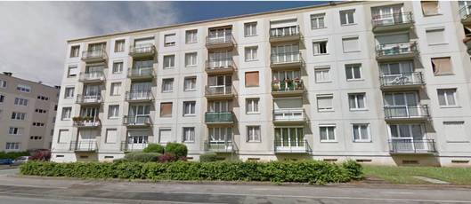 Location appartement 2pièces 51m² Bihorel (76420) - 550€