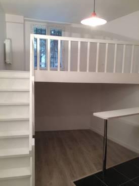 Location studio 18m² Paris 17E - 800€