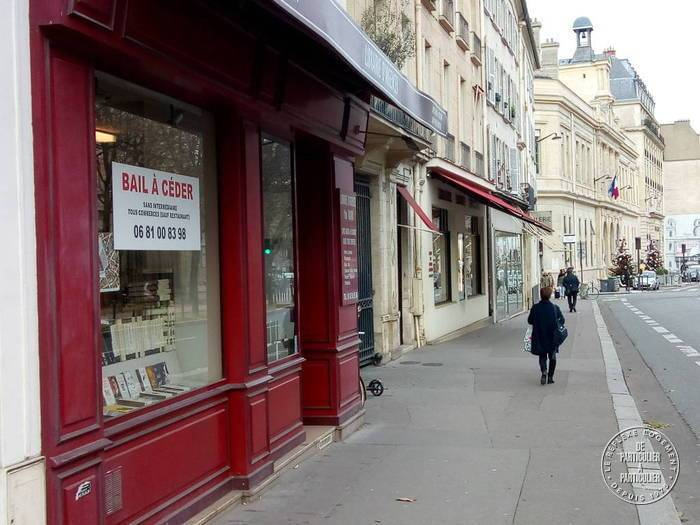 Location Local commercial Paris 6E