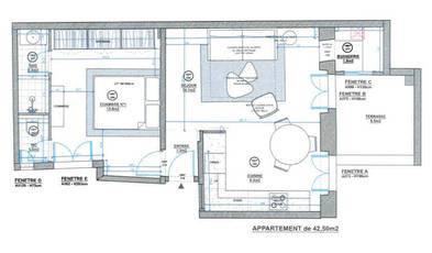 Vente appartement 2pièces 43m² Paris 3E - 470.000€