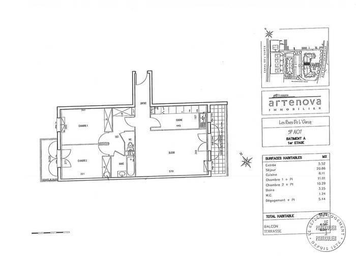 Vente Appartement Villenoy (77124) 66m² 184.500€