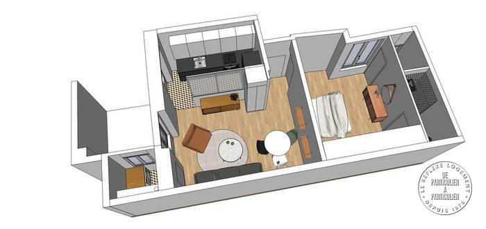 Appartement Paris 3E 470.000€