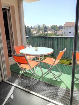 Vente appartement 3pièces 61m² Meyzieu (69330) - 186.000€