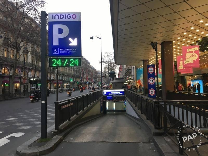 Location Garage, parking Paris 9E  155€