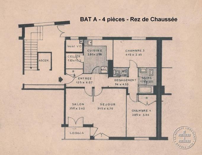 Location appartement 4 pièces Mayenne (53100)