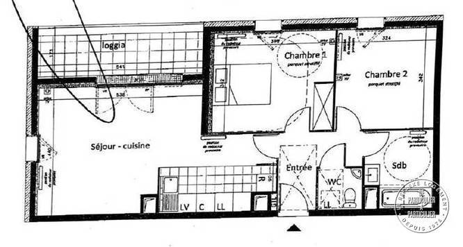 Appartement 299.000€ 68m² Gennevilliers (92230)