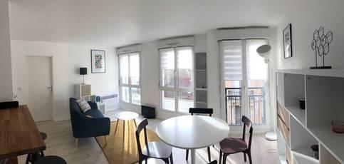 Location meublée appartement 2pièces 45m² Villejuif (94800) - 1.150€