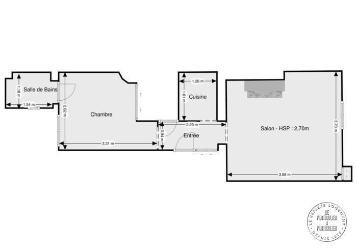 b0cc9b3af45 Vente appartement 2 pièces 30 m² Paris 14E - 30 m² - 324.000 €
