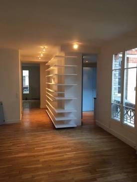 Location appartement 3pièces 85m² Paris 18E - 2.475€