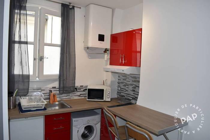 Location appartement studio Paris 6e