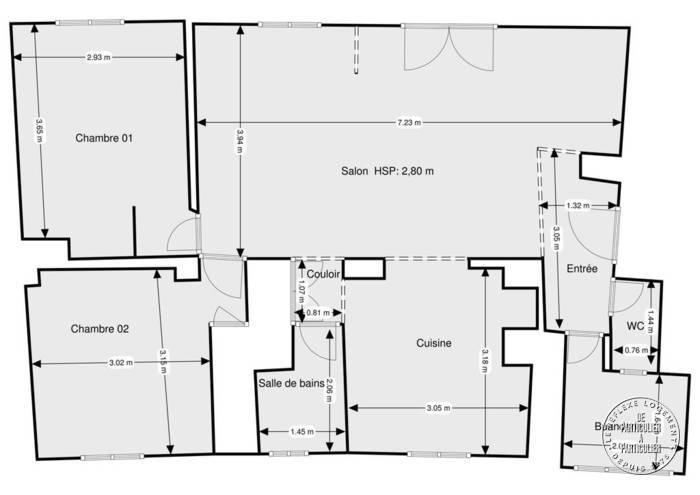 Vente Appartement Toulouse (31) 72m² 139.000€