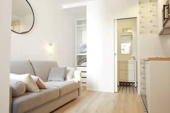 Location meublée studio 15m² Paris 4E - 960€