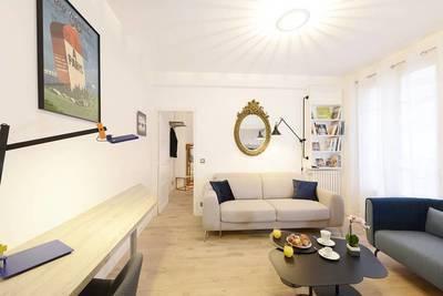 Location meublée appartement 2pièces 43m² Courbevoie (92400) - 1.700€
