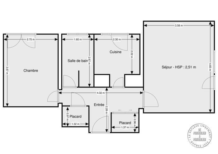 Vente Appartement Créteil (94000) 44m² 151.000€