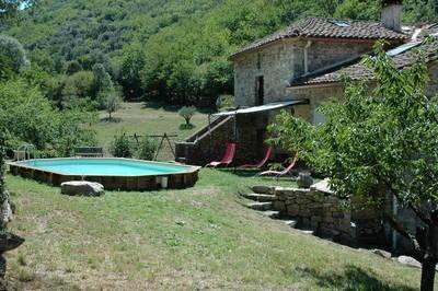 Vente maison 240m² Proche Saint-Jean-Du-Gard Mas Rénové Sur 24Ha - 489.000€