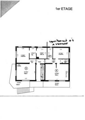 Vente appartement 3pièces 44m² Morsang-Sur-Orge (91390) - 121.000€