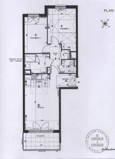 vente appartement 3 pi ces 61 m rueil malmaison 92500. Black Bedroom Furniture Sets. Home Design Ideas