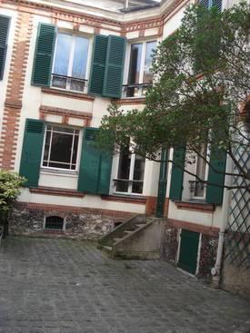 Location meublée maison 80m² Asnieres-Sur-Seine (92600) - 2.300€