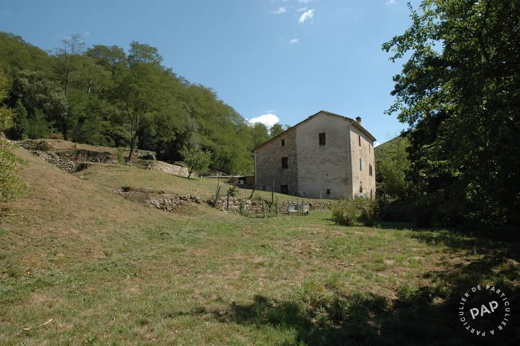 Vente Maison Proche Saint-Jean-Du-Gard Mas Rénové Sur 24Ha