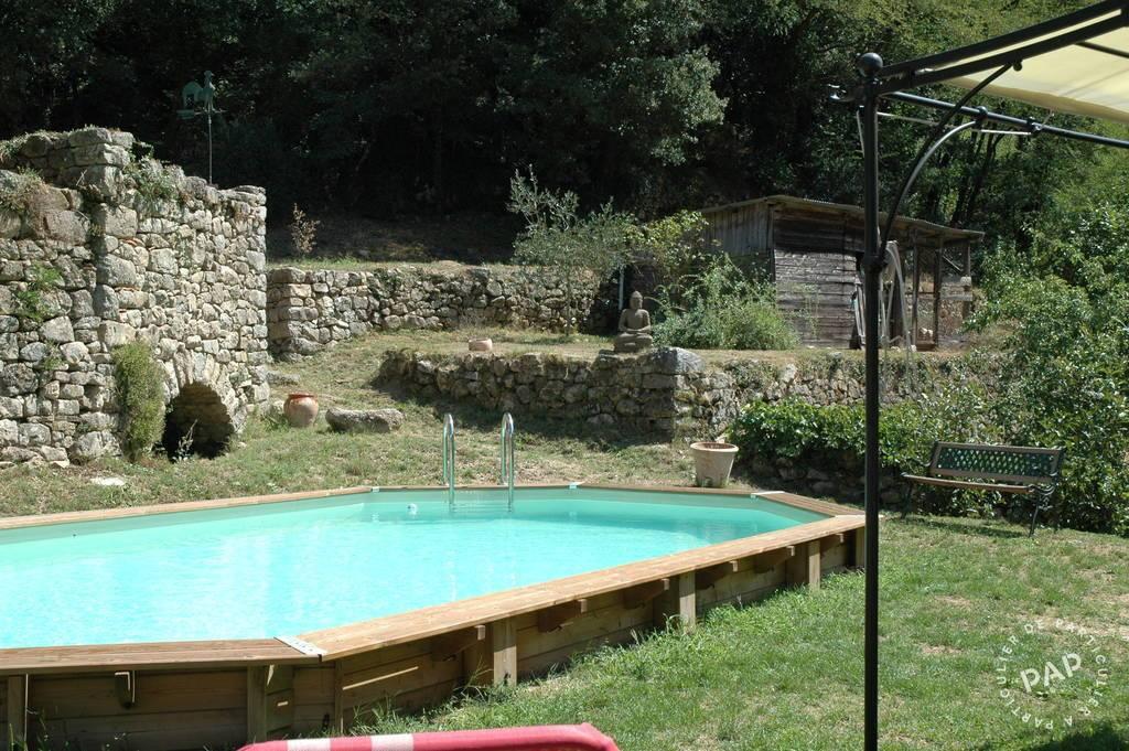 Vente immobilier 489.000€ Proche Saint-Jean-Du-Gard Mas Rénové Sur 24Ha