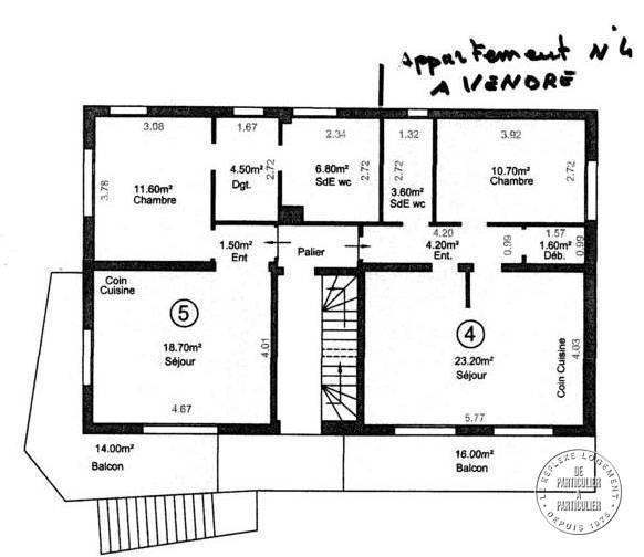 Appartement 121.000€ 44m² Morsang-Sur-Orge (91390)