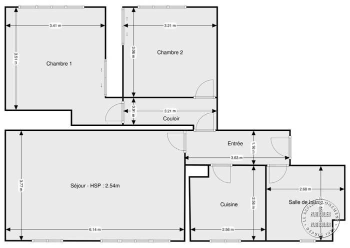Vente Appartement Paris 18E 68m² 702.000€