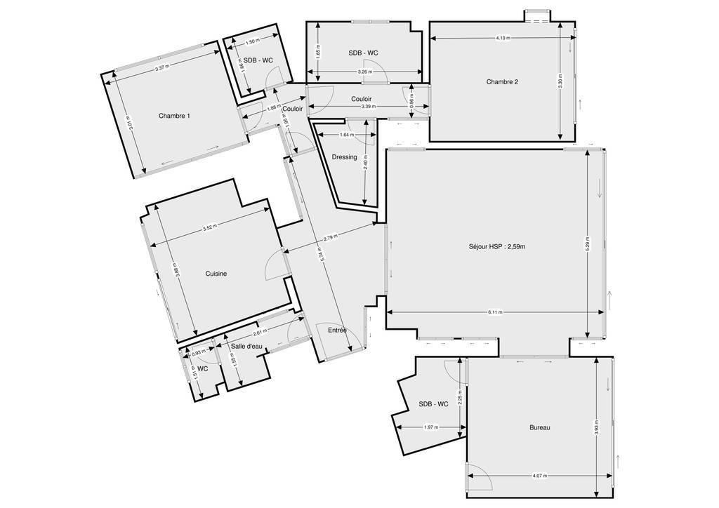 Vente appartement 4 pièces Cannes (06)
