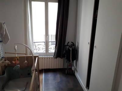 Location meublée appartement 3pièces 55m² Paris 11E - 1.380€