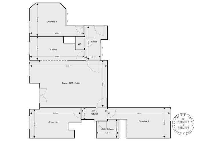 vente appartement 4 pi ces 87 m herblay 95220 87 m. Black Bedroom Furniture Sets. Home Design Ideas