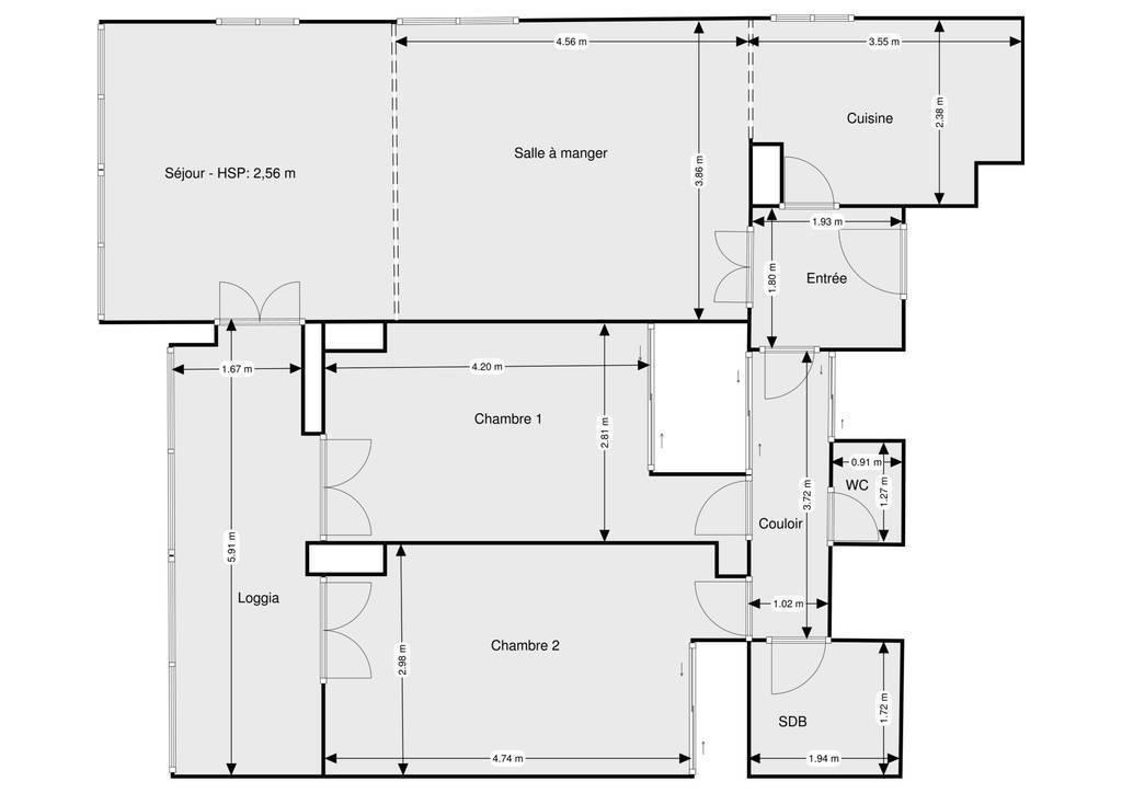 Vente Appartement 4 Pieces 82 M Perpignan 66 82 M