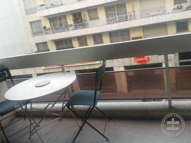 Location Paris 15E 28 m²