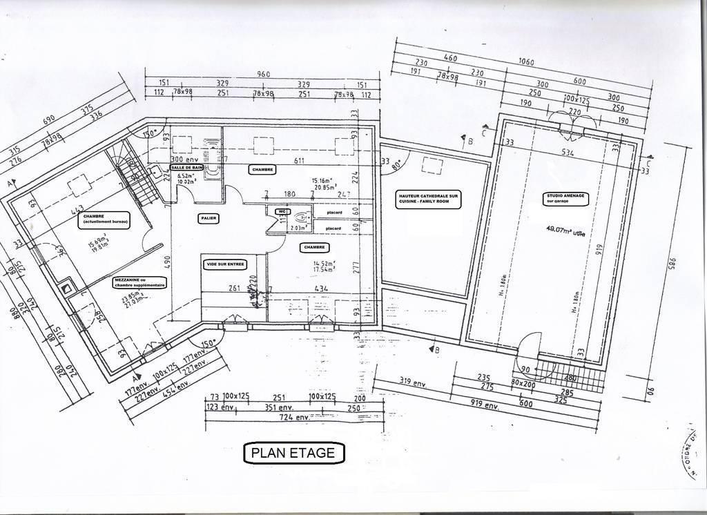 Vente Jouars-Pontchartrain 250m²