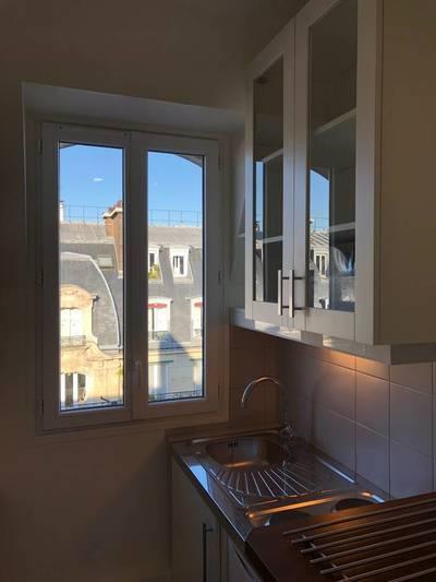 Location meublée appartement 2pièces 18m² Paris 17E - 800€