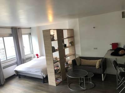 Location meublée studio 39m² Paris 16E - 1.450€