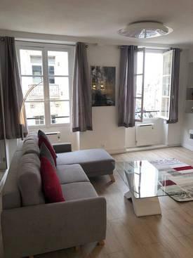 Location meublée appartement 2pièces 37m² Paris 6E - 1.950€